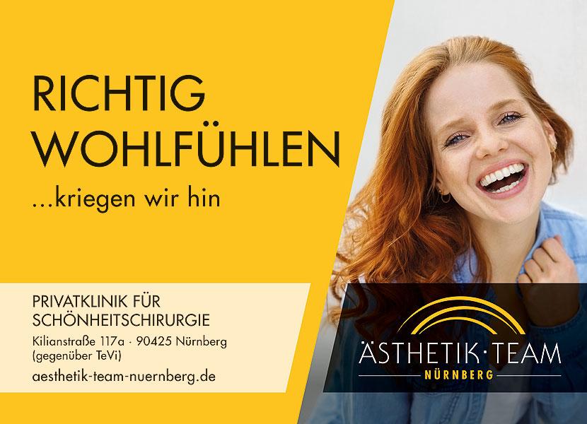 Aesthetik-Team-Privatklinik-Schoenheitschirurgie-Grossflaaechenplakat-Agentur-Portfolio-fuerstmedien-Referenz